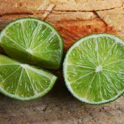 Sliced half limes